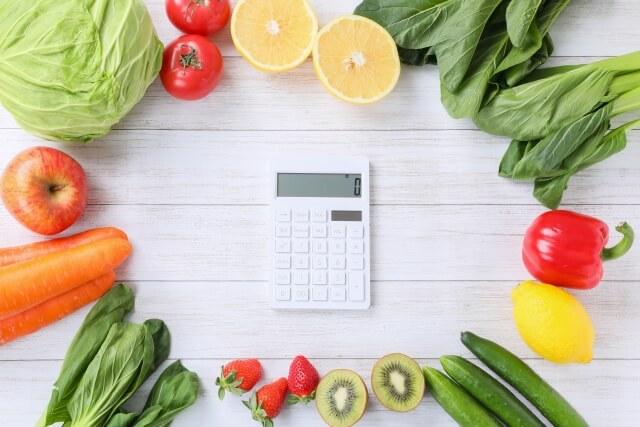 野菜 電卓