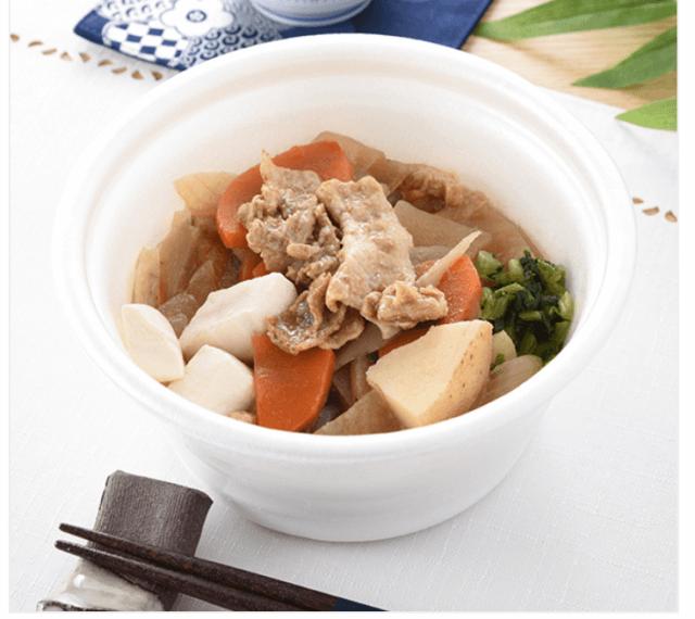 10品目具材の豚汁 |商品情報|ファミリーマート